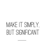 MAKE IT SIMPLY
